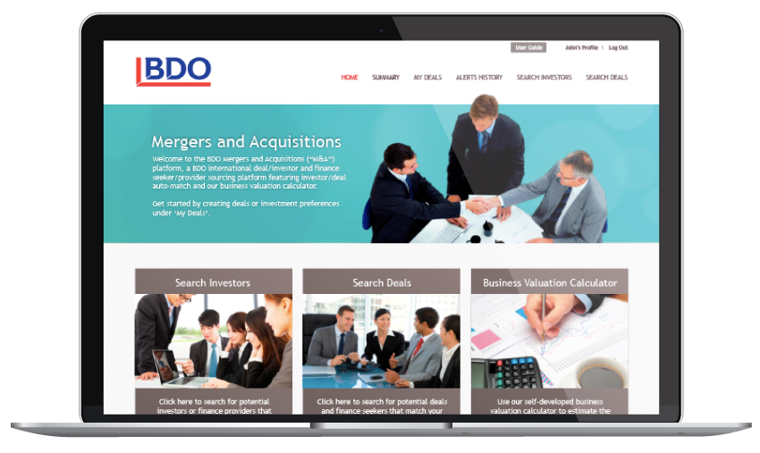 BDO Web Design Singapore