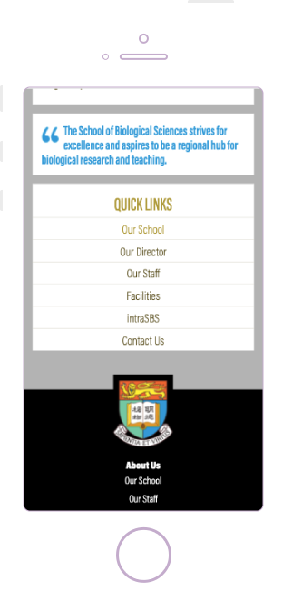 HKU SBS Mobile Web Design Singapore